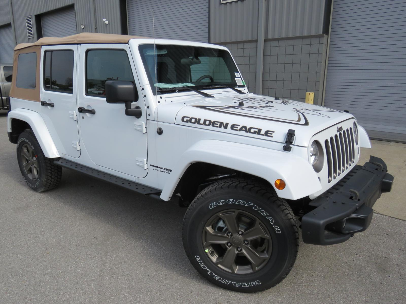 Wrangler Unlimited Towing >> New 2018 Jeep Wrangler JK Unlimited Golden Eagle Sport Utility #C1435 | Freeland Auto