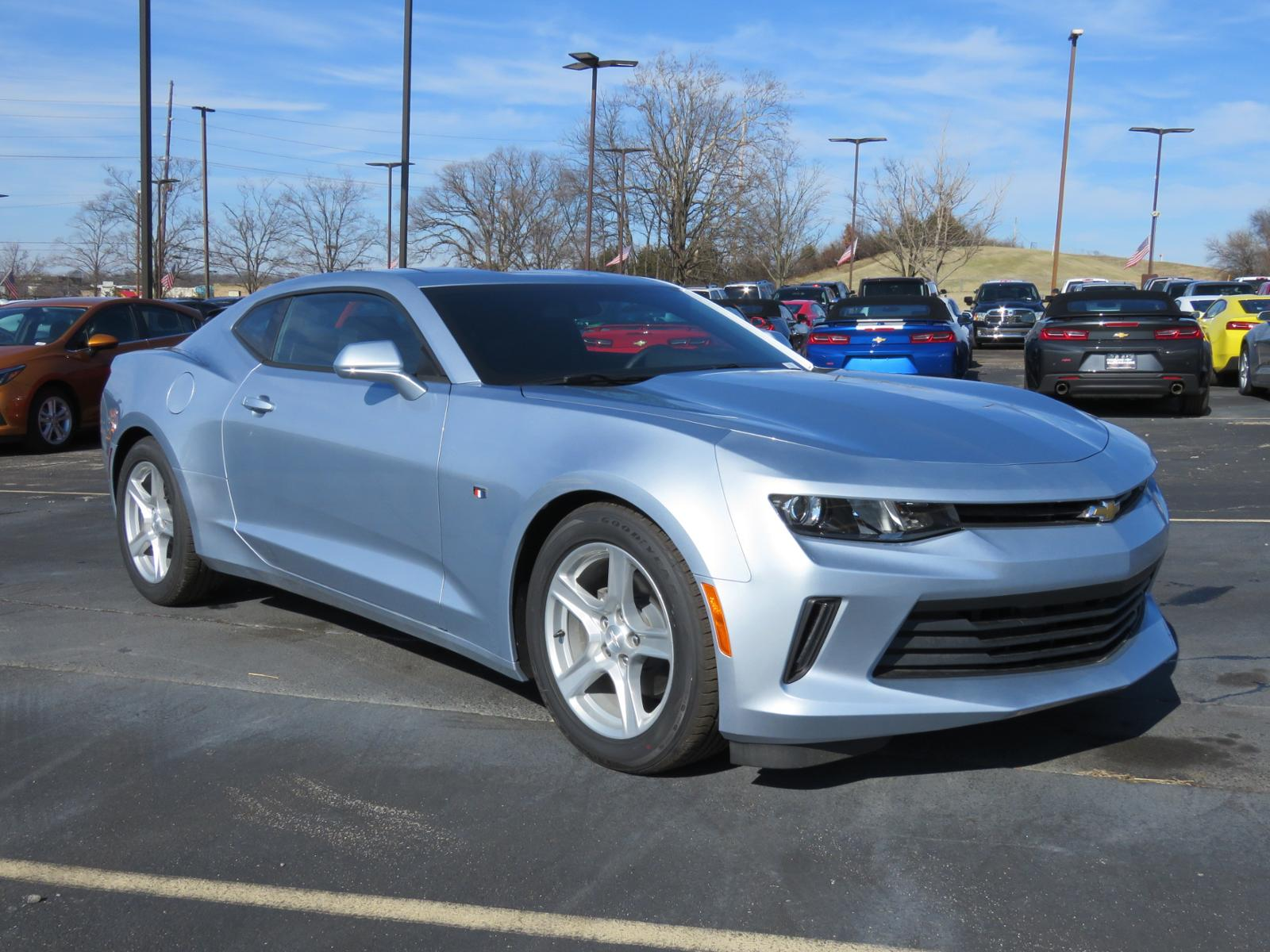 New 2018 Chevrolet Camaro LS 2dr Car L1167