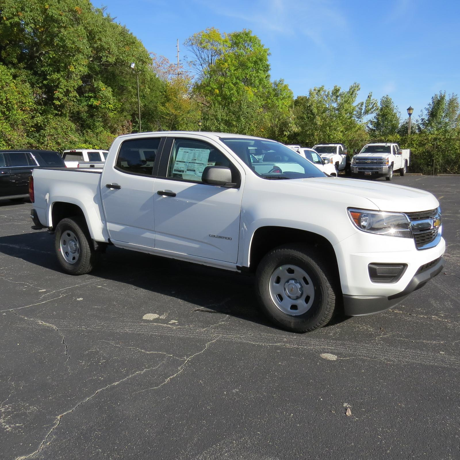 New 2019 Chevrolet Colorado 2WD Work Truck Crew Cab Pickup K