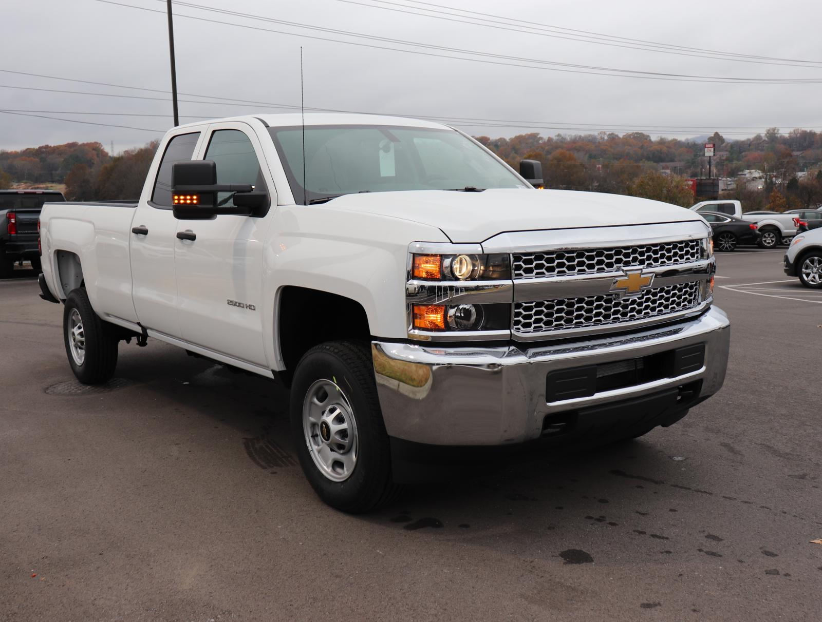 New 2019 Chevrolet Silverado 2500hd Work Truck Extended Cab Pickup